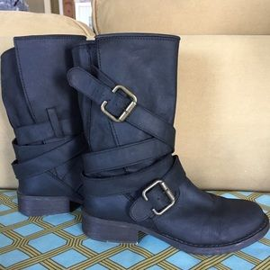 ❤️ Steve Madden Black Boots